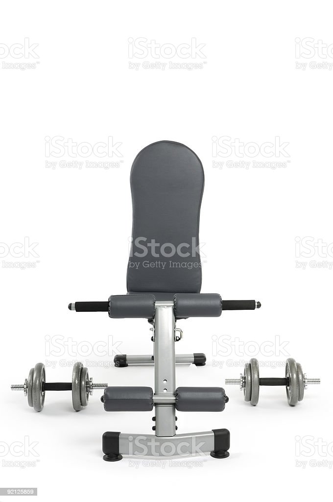 Exercise Bench royalty-free stock photo