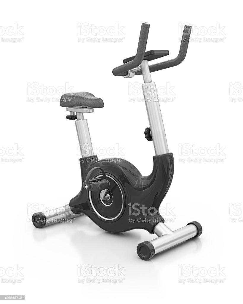 exercise bike royalty-free stock photo