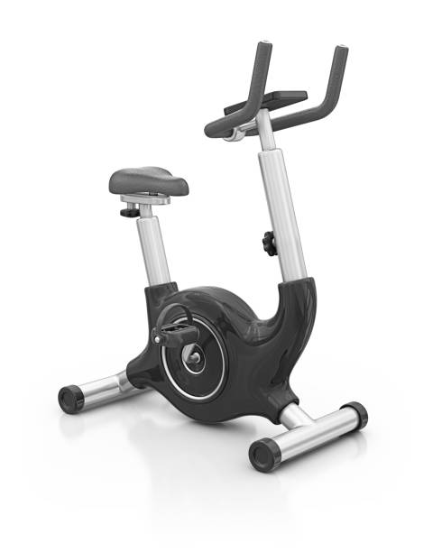 exercise bike  exercise machine stock pictures, royalty-free photos & images