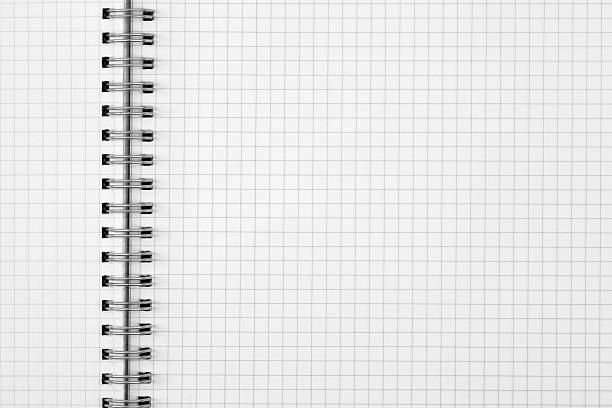 exercise book paper sheet background stock photo