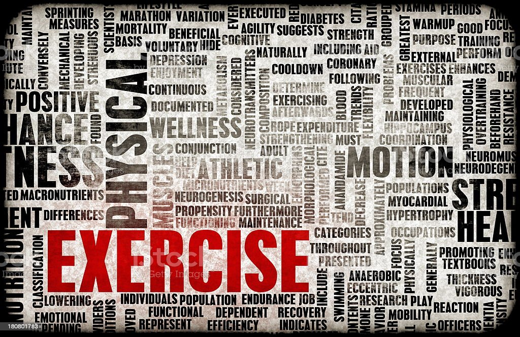 Exercise Concept royalty-free stock photo