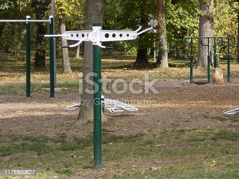 Recreational devices in the public park