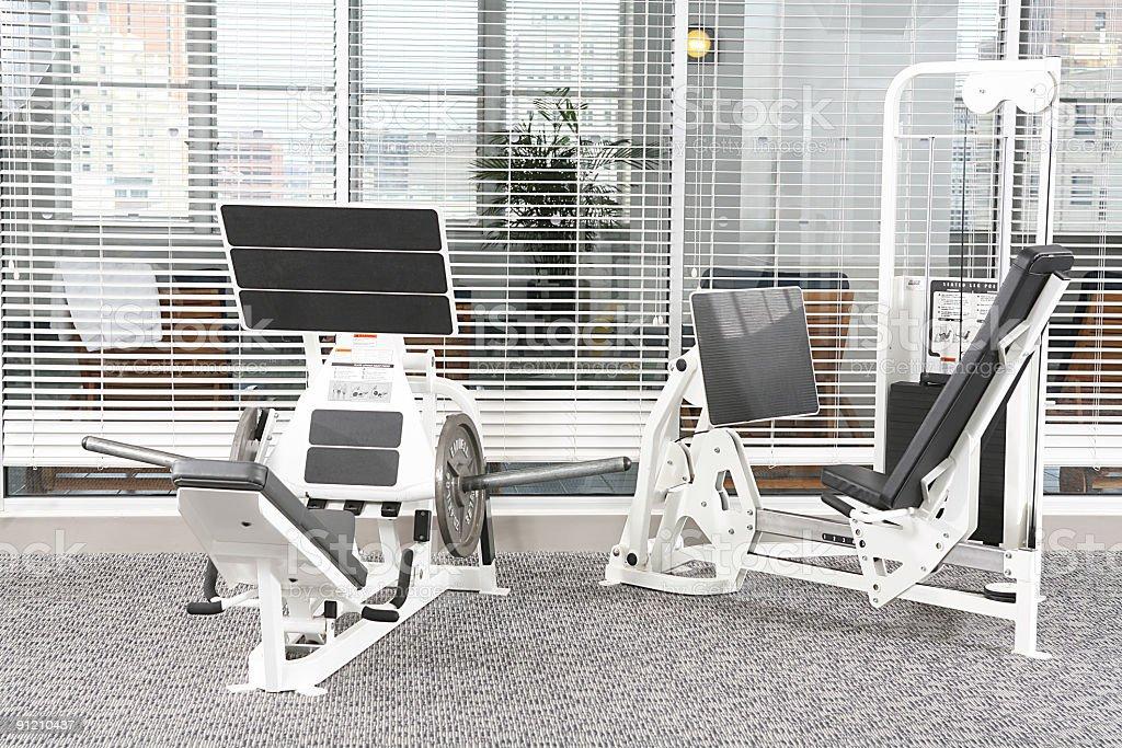 exercise equipment royalty-free stock photo
