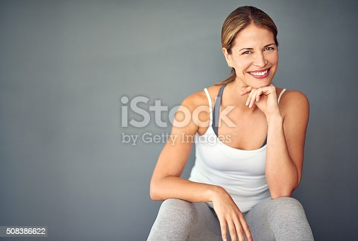 istock Exercise is number one on my to-do list 508386622