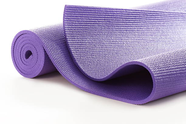 Exercise Mat Isolated stock photo