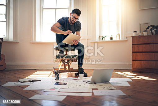 istock I exercise my creativity on a daily basis 638230588