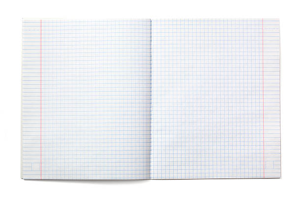 Exercise notebook with checked paper (XXXL) http://www.mordolff.ru/is/_lb_3d_blank.jpg workbook stock pictures, royalty-free photos & images