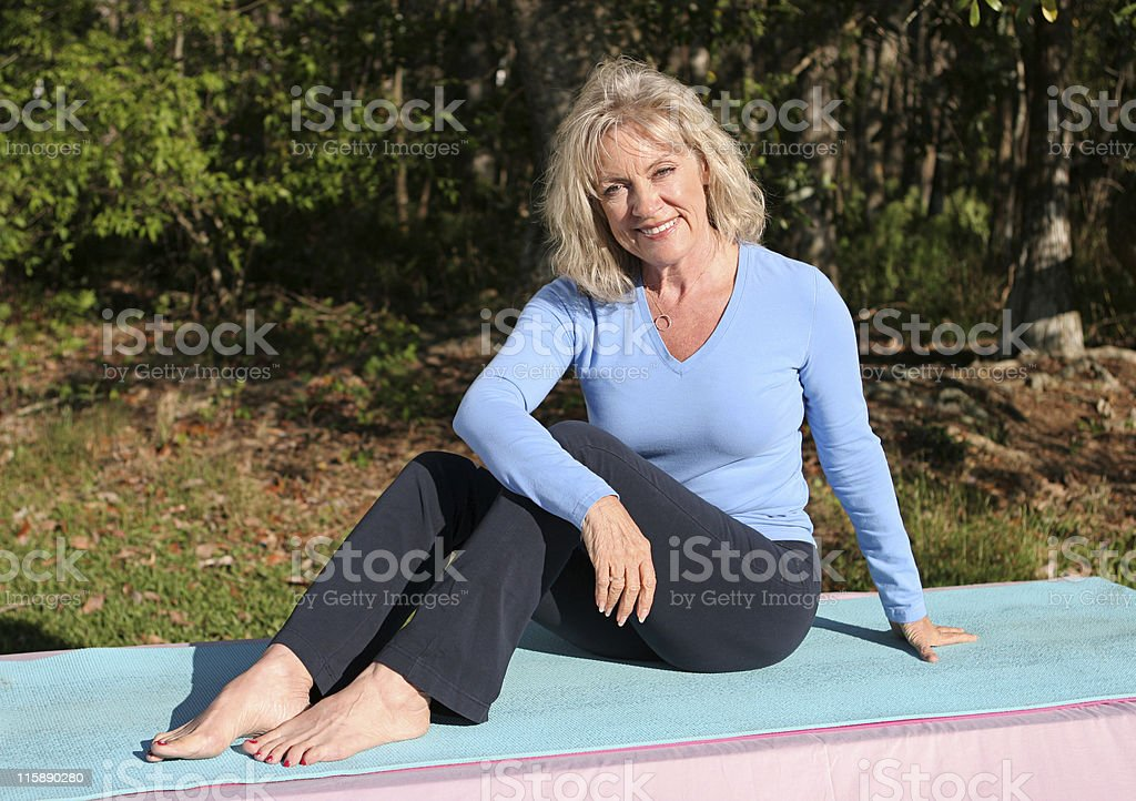 Exercise Outdoors royalty-free stock photo
