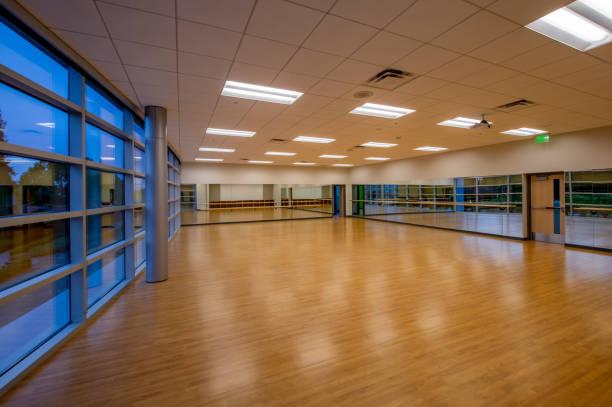 Exercise Room stock photo