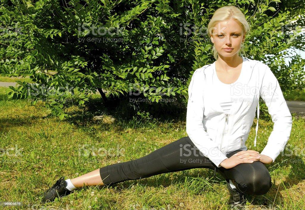 exercises royalty-free stock photo