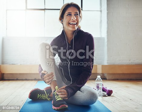 istock Exercising can leaving you feeling oh so great 910348734