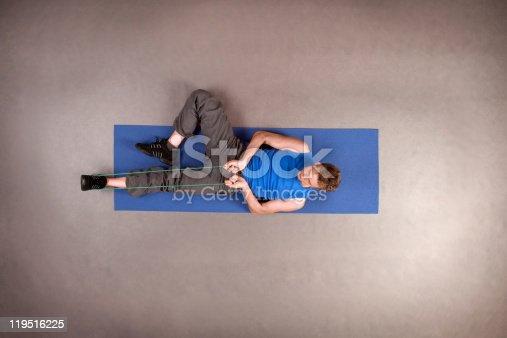 511849865istockphoto Exercising fit man 119516225