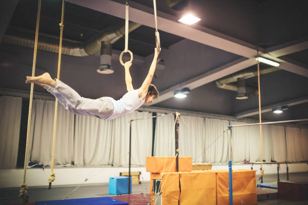 Best Gymnastics Equipment Stock Photos, Pictures & Royalty-Free