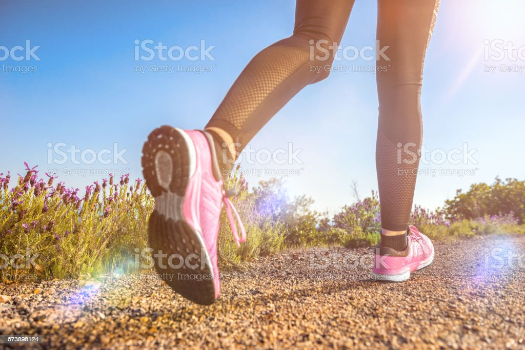 Exercising outdoors foto de stock royalty-free