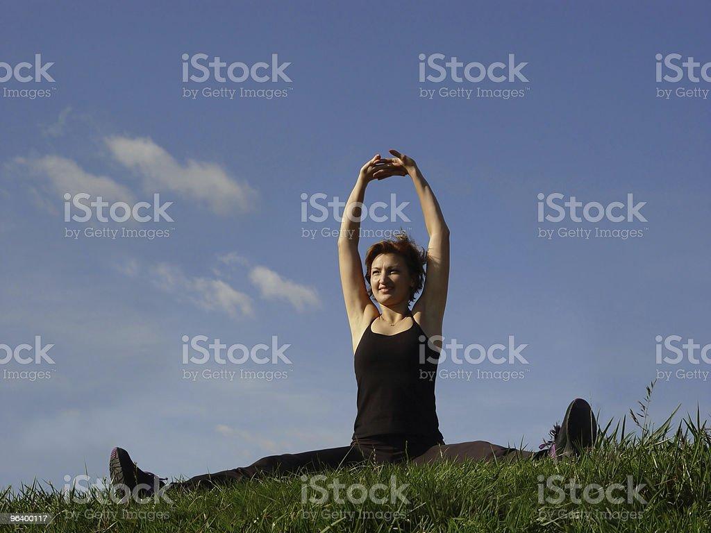 Exercising outdoors - Royalty-free Activity Stock Photo