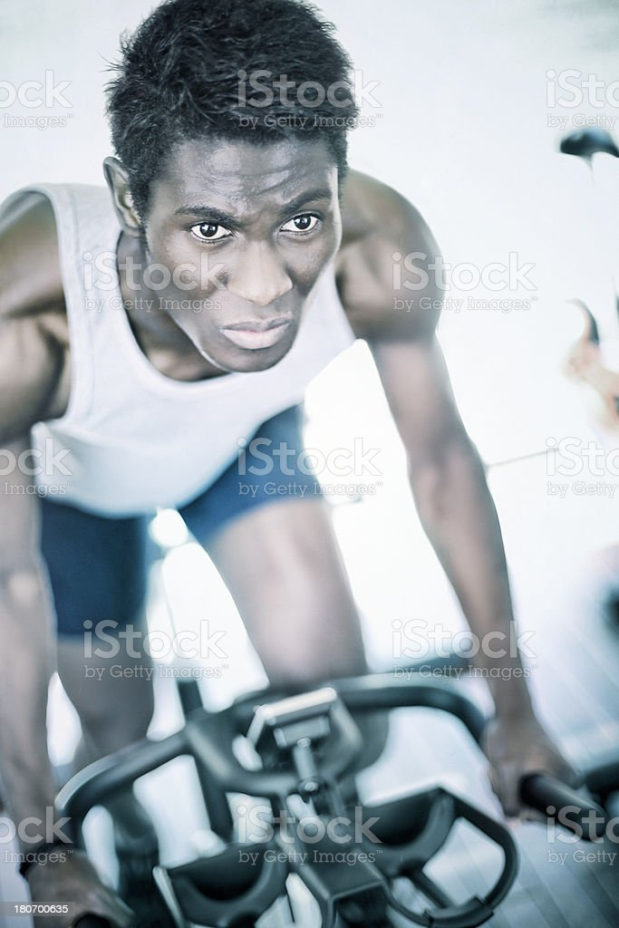 Spinning royalty-free stock photo