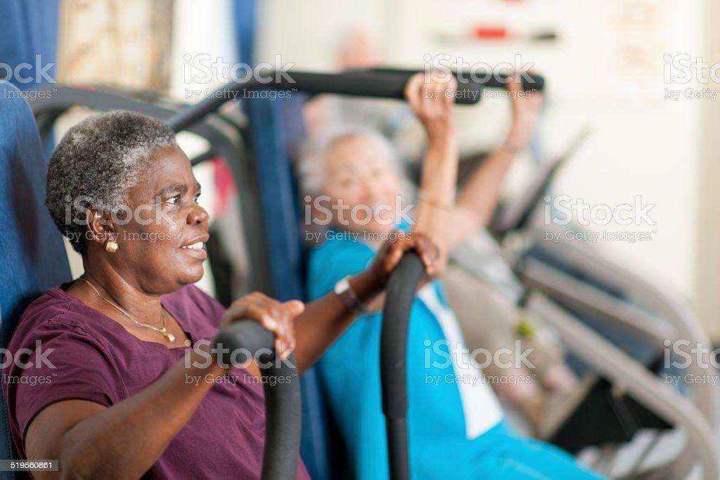 Esercizio fisico - foto stock