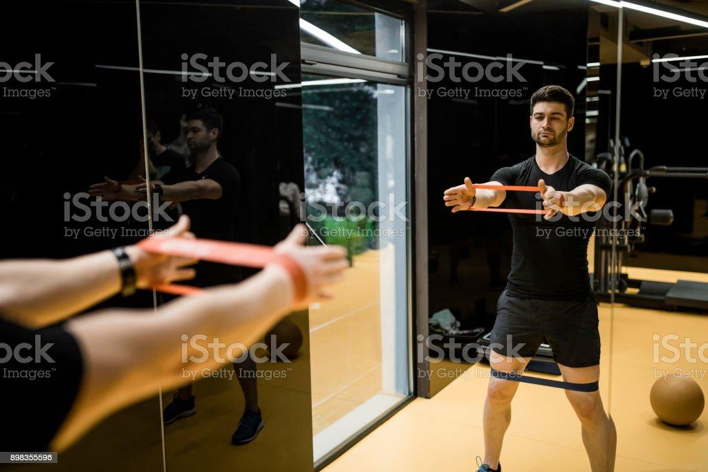 Exercising time stock photo