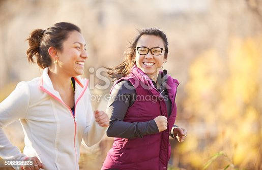 istock Exercising together helps us to build a stronger relationship 506868928