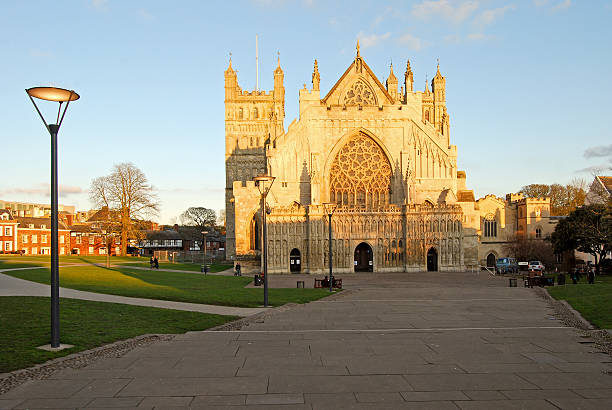 Exeter Cathedral – Kirche St. Peter, Devon England – Foto