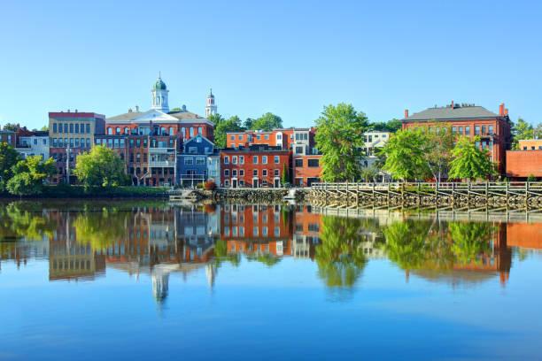 Exeter, New Hampshire stock photo