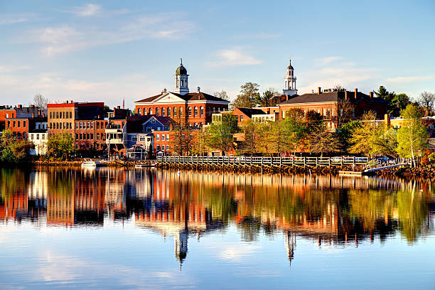 exeter, new hampshire - new hampshire stockfoto's en -beelden