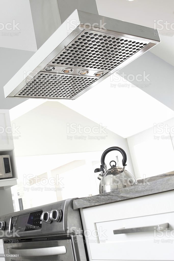 Exhaust Fan In Modern Kitchen Stock Photo Download Image Now Istock