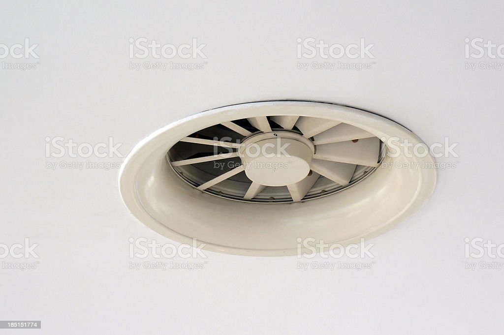 Exhaust fan stock photo
