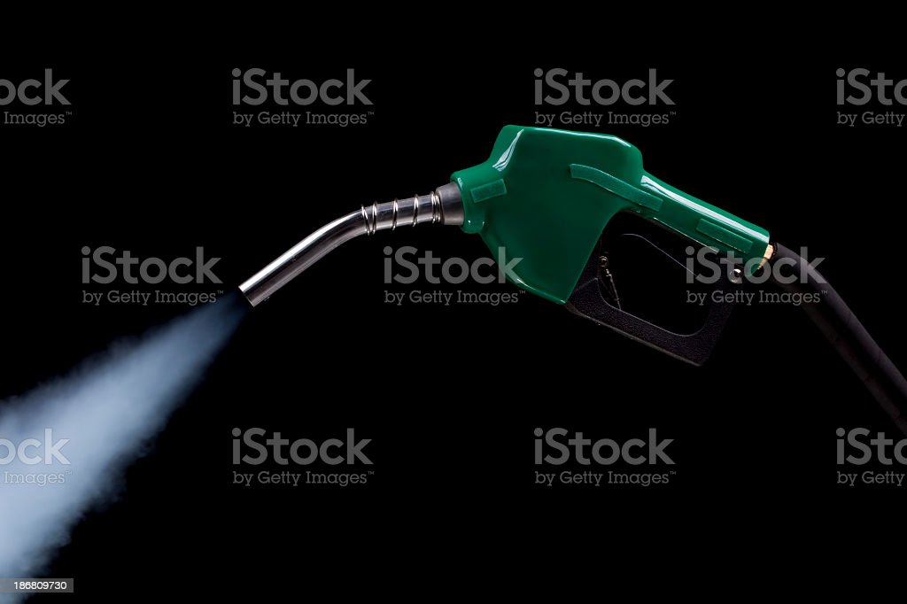 Exhaust from Fuel Pump royalty-free stock photo