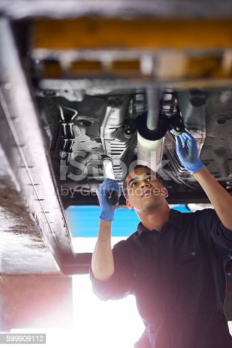 599909112 istock photo Exhaust repairs 599909112