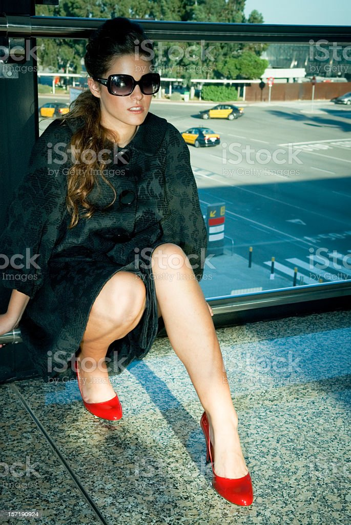 Exhausted royalty-free stock photo