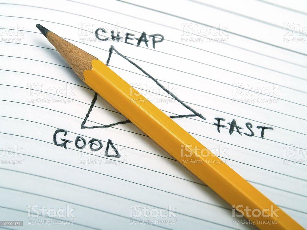 Exhaustive method royalty-free stock photo