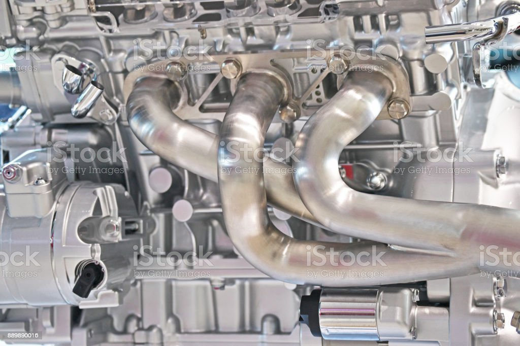 exhaust-pipe stock photo