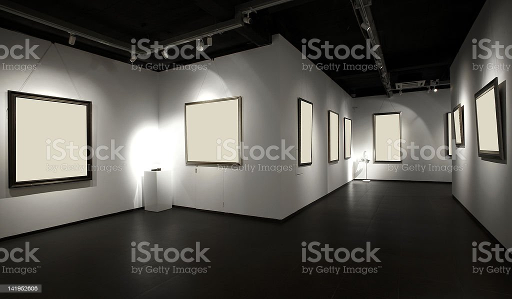 Exhibition hall royalty-free stock photo