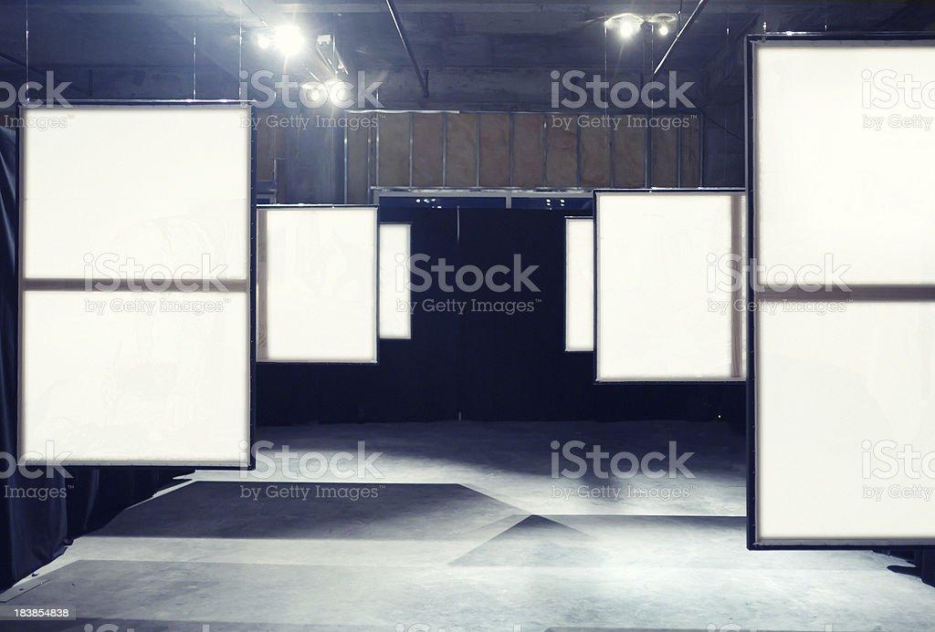 ART Exhibition hall royalty-free stock photo