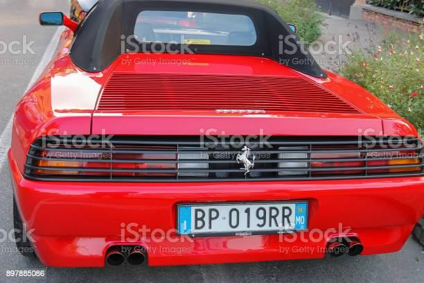 Exhibition of ferrari cars on streets of spilamberto italy picture id897885086?b=1&k=6&m=897885086&s=612x612&h=fhouml4zh qehoqbethsyqjvozevwspnk8whwzcm bg=