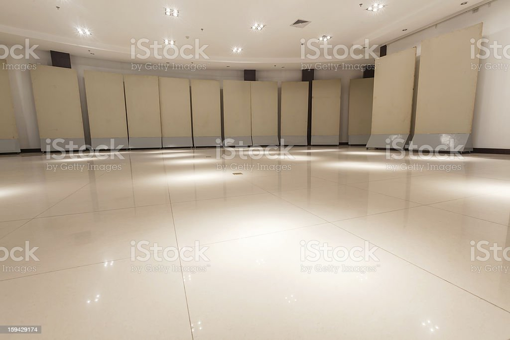 exhibition room royalty-free stock photo