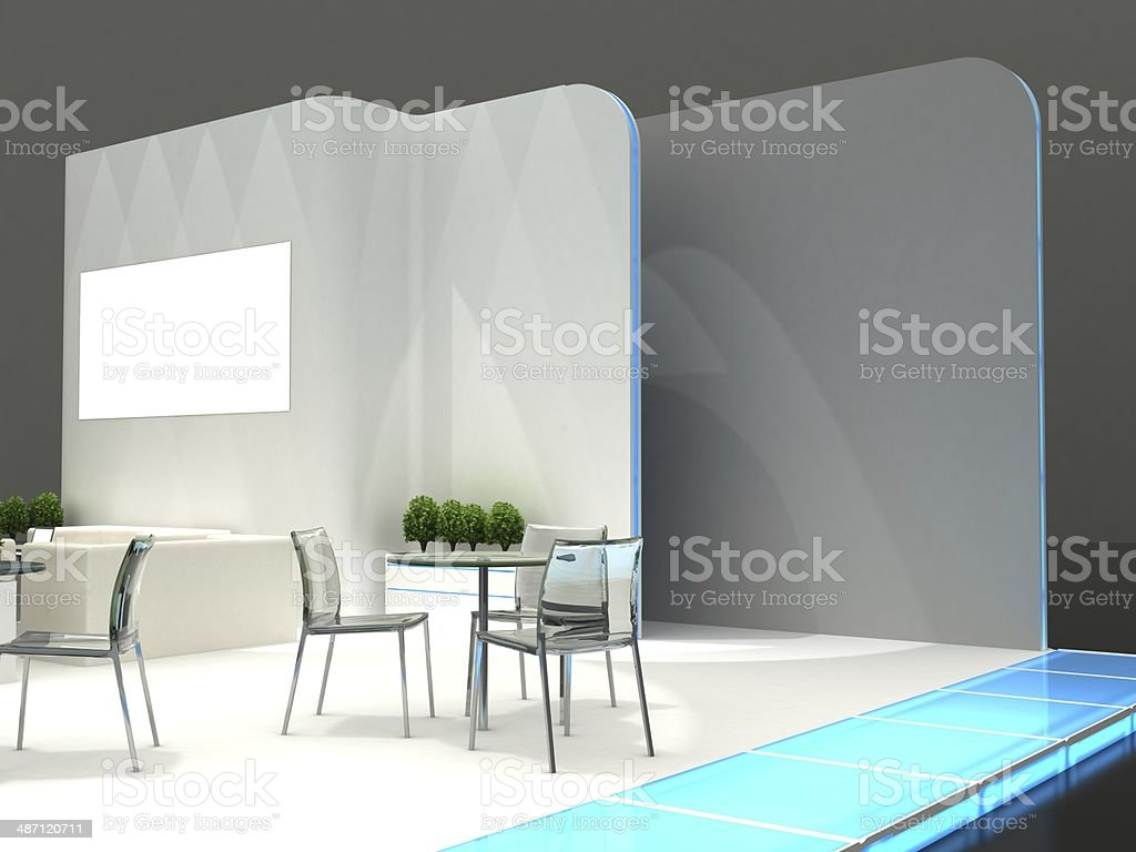 Exhibition Stand Interiors : Exhibition stand interior exterior sample stock photo more