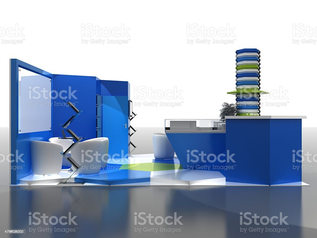 Exhibition Stand Interiors : Exhibition stand interior sample interiors series d stock photo