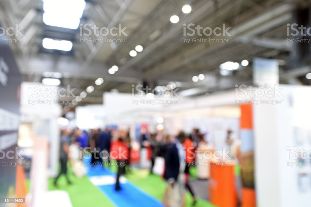 Exhibition Venue stock photo