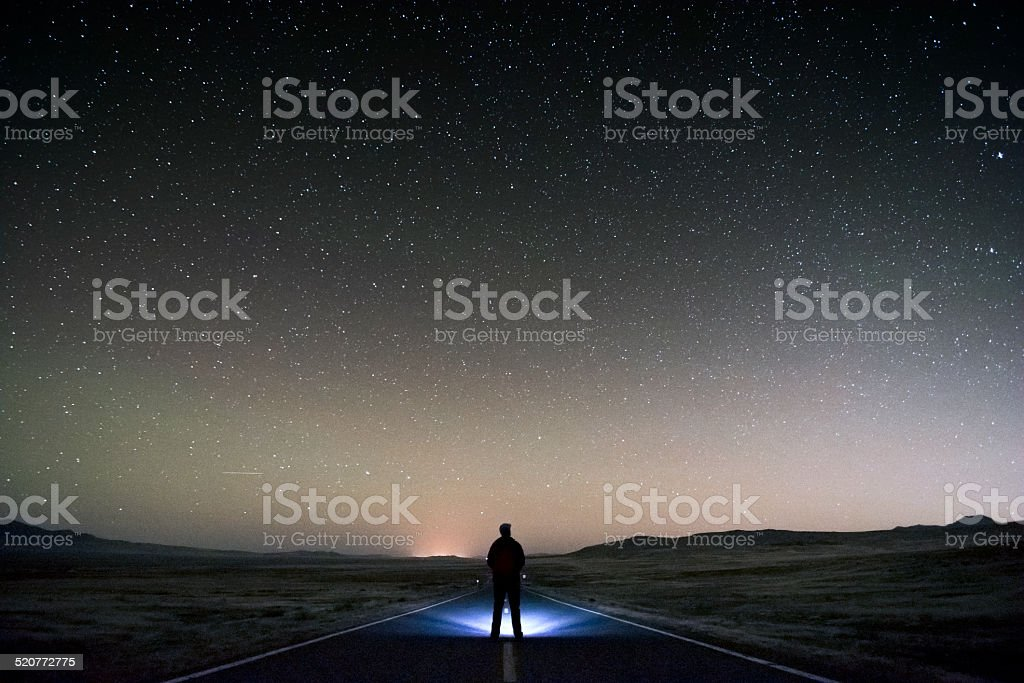 Existentialism stock photo