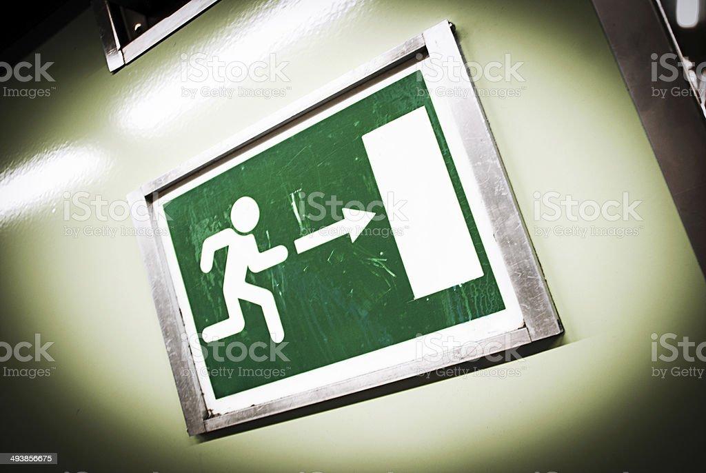 Nehmen Sie die Ausfahrt auf der rechten Seite. – Foto