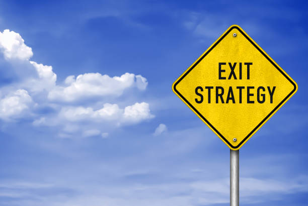 Exit-Strategie - Roadsign-Informationen – Foto