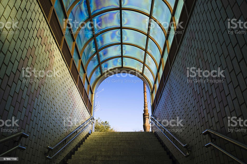 Exit To The Outside World royalty-free stock photo