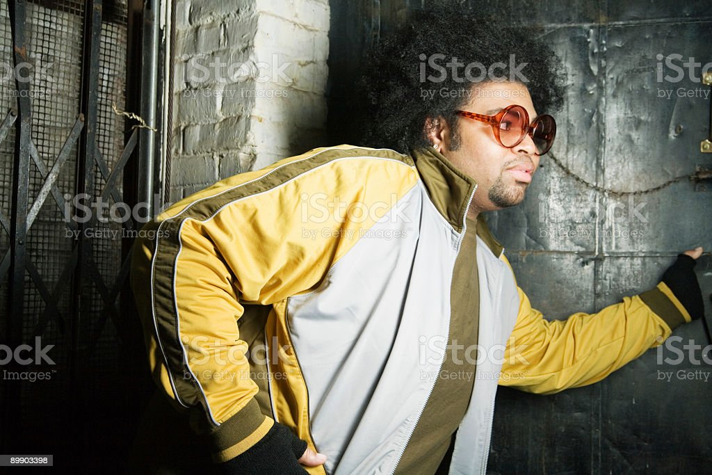 exiting royalty-free stock photo