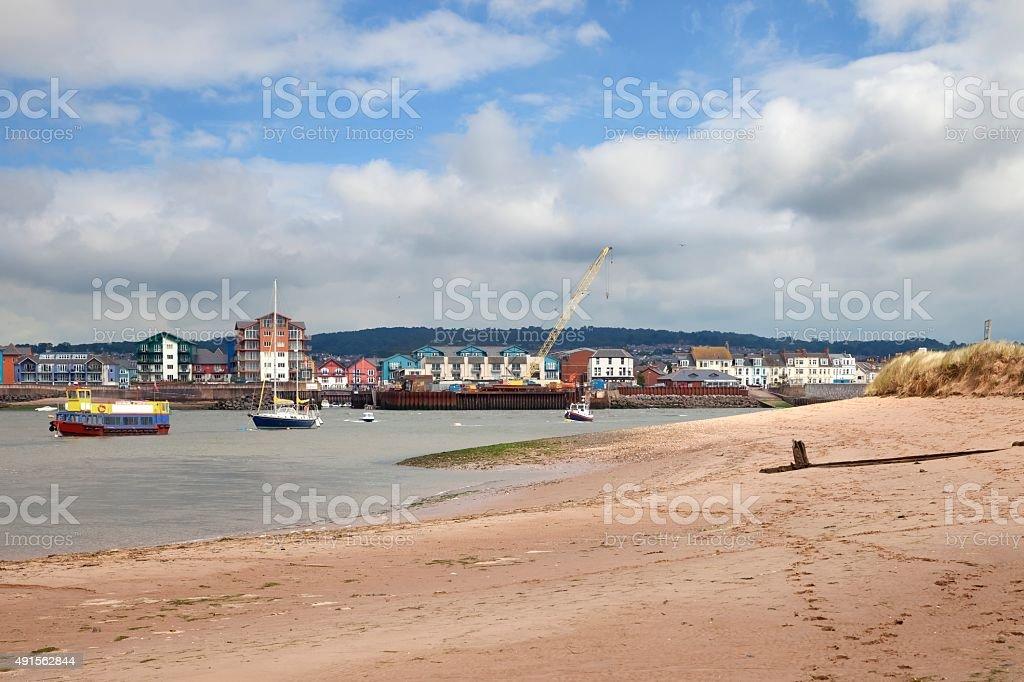 Exmouth, Devon, England stock photo