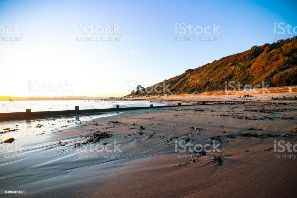 Exmouth seafront, Devon stock photo