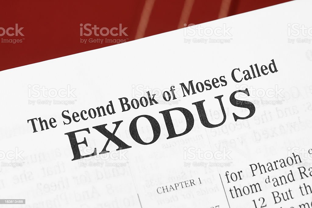 Exodus royalty-free stock photo