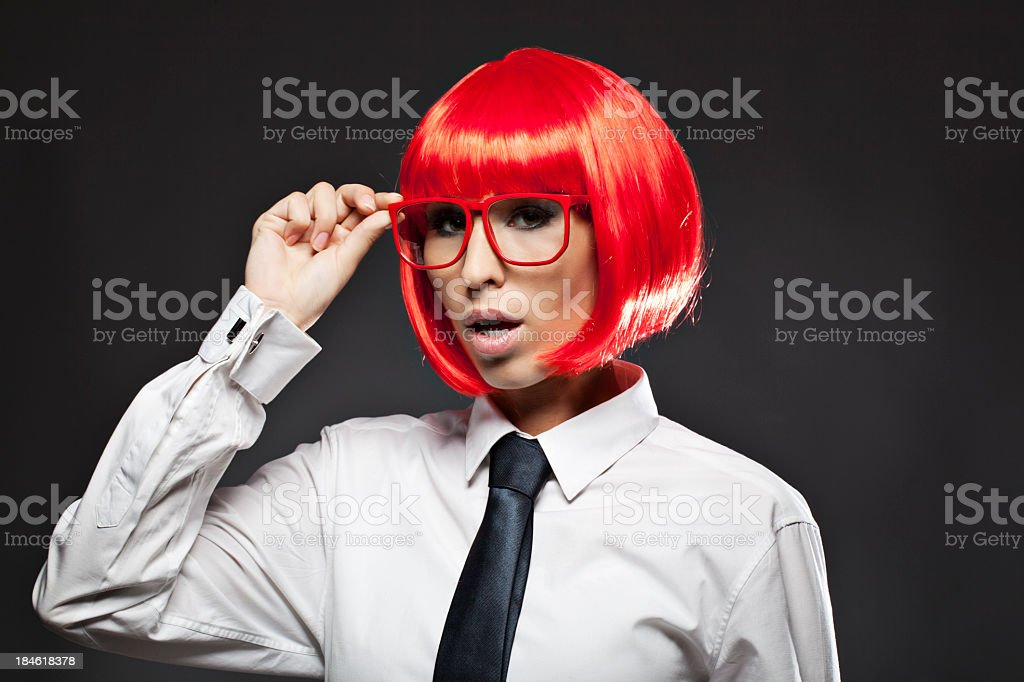 Exotic Business Woman stock photo