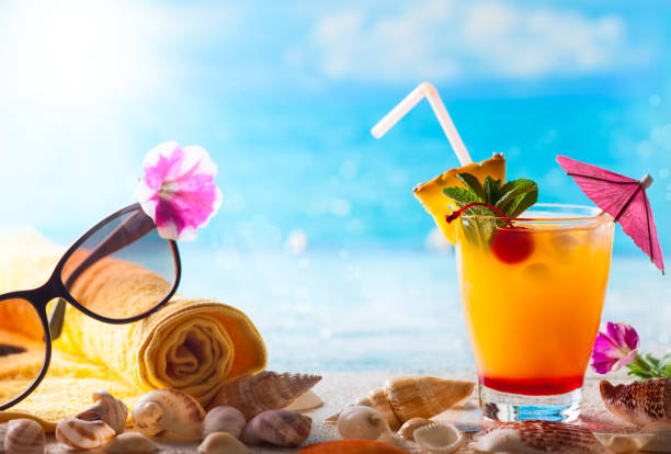 exotic cocktail - foto stock